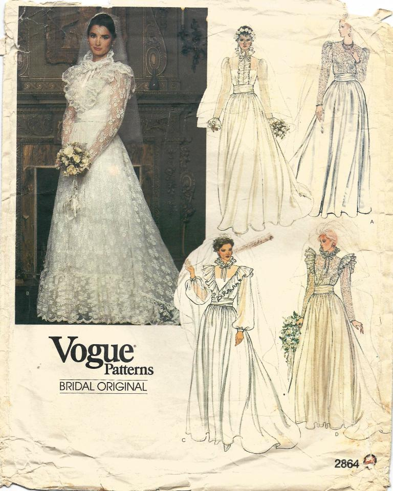 Vogue 2864 | Vintage Sewing Patterns | FANDOM powered by Wikia
