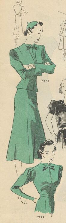 Butterick 7274 April 1937 0005