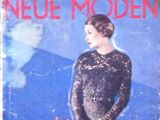 Neue Moden No. 11 1934