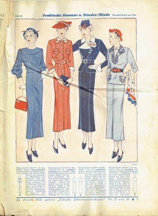 Magazine fashion pages (2)