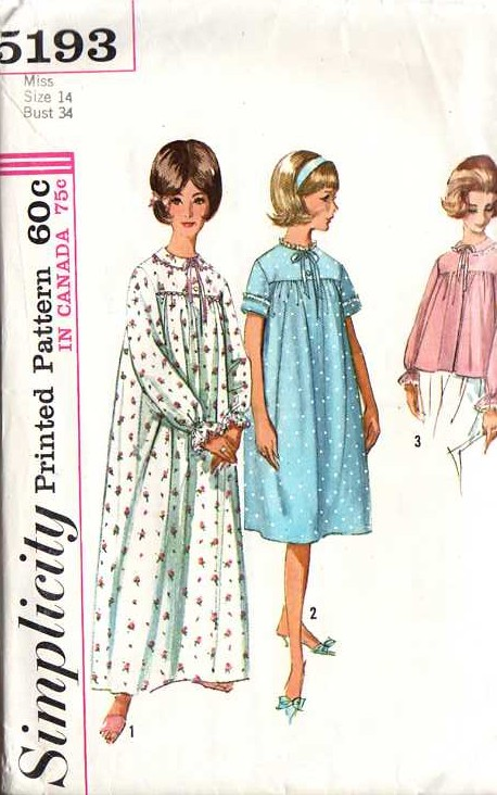 Simplicity 5193 | Vintage Sewing Patterns | FANDOM powered by Wikia
