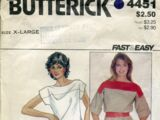 Butterick 4451 A