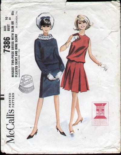 McCalls 7386 60s