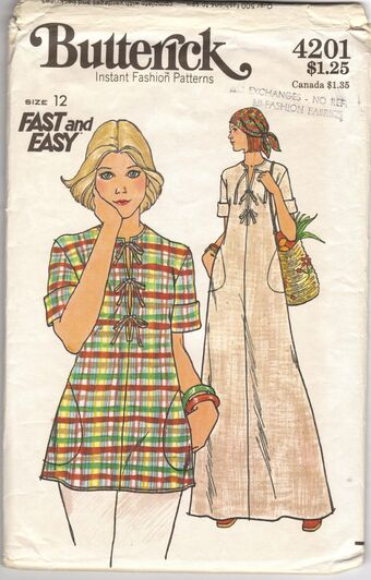 Butterick 4201 | Vintage Sewing Patterns | Fandom