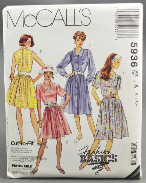 McCall's 5936 Dress 1
