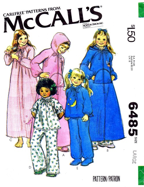 McCalls 1979 6485