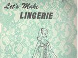 Let's Make Lingerie 330
