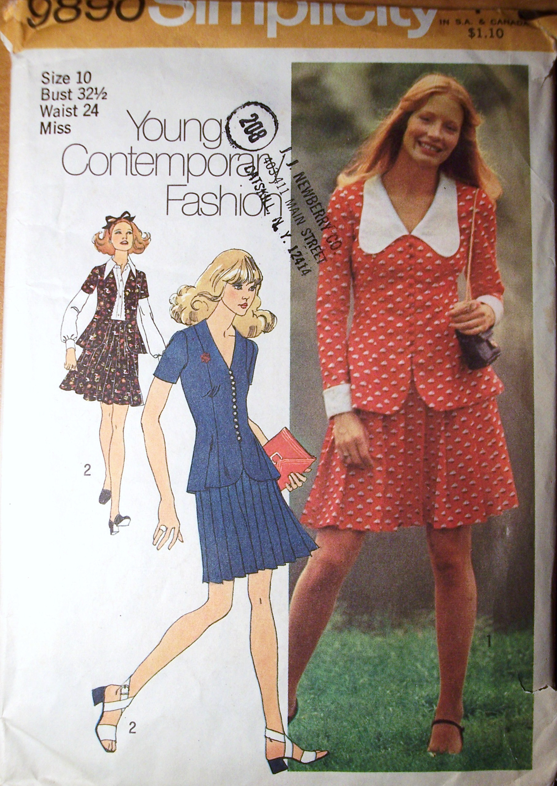 simplicity 9890 vintage sewing patterns fandom powered
