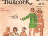 Butterick 3026 A