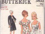 Butterick 3833