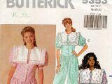 Butterick 5353 B