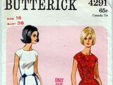Butterick 4291 D