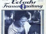 Vobachs Frauenzeitung No. 11 Vol. 37 1934