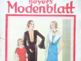 Beyers Modenblatt No. 13 Vol. 10 1931