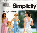 Simplicity 7812 B
