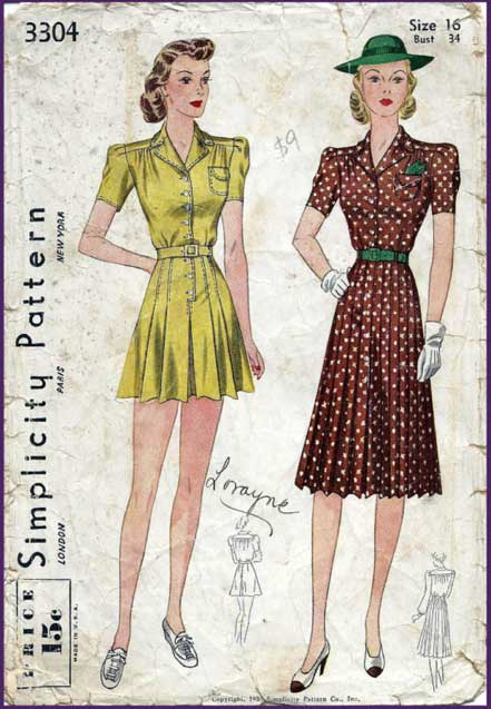 Simplicity 3304 A | Vintage Sewing Patterns | FANDOM powered by Wikia