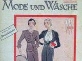 Mode und Wäsche No. 6 1935/36