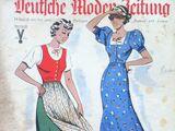 Deutsche Moden-Zeitung No. 16 Vol. 45 1936