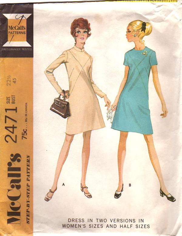 Mccalls 2471 Vintage Sewing Patterns Fandom Powered By Wikia
