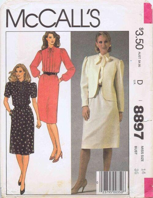 McCalls 1984 8897