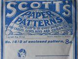 Scott's Paper Patterns 1410