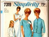 Simplicity 7319 A