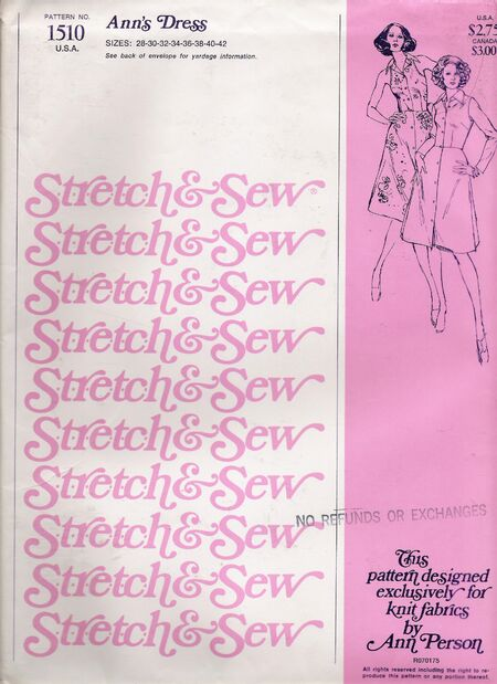 Stretch & Sew 1510 image