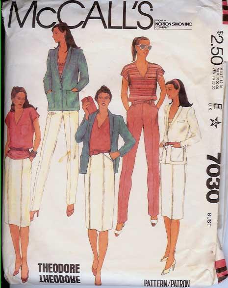 W-7030M 1980 Theodore-Suit