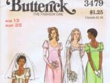Butterick 3479 A