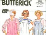 Butterick 3308 B