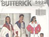 Butterick 5922 A