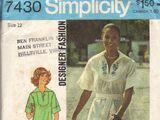 Simplicity 7430 A