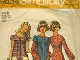 Simplicity 9834