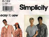 Simplicity 8749 B