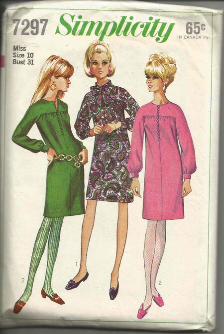 Simplicity 7297-Front