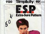 Simplicity 9180 A