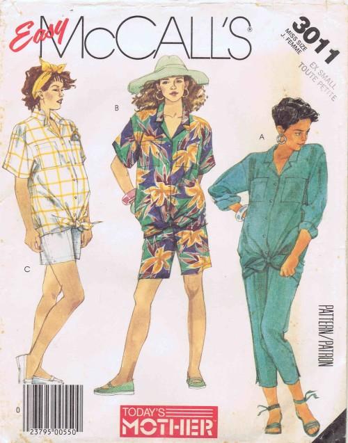 McCalls 1987 3011