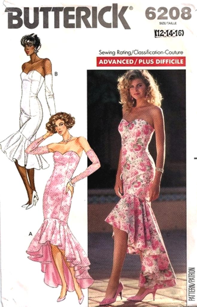 Butterick 6208 Vintage Sewing Patterns Fandom Powered