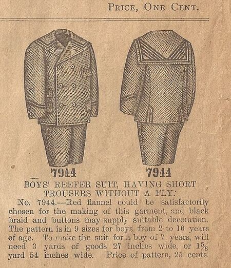 Butt 7944 reefer suit