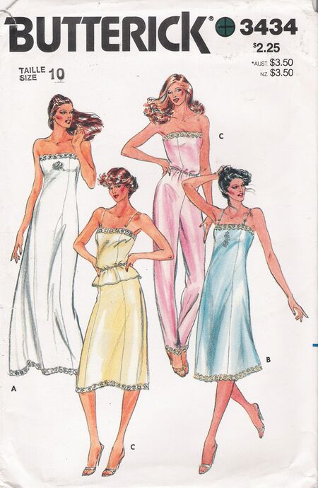 Butterick 3434 image