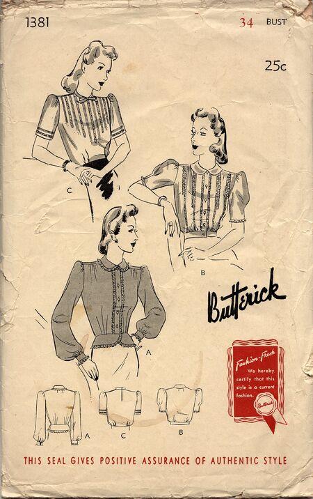 Butterick 1381D