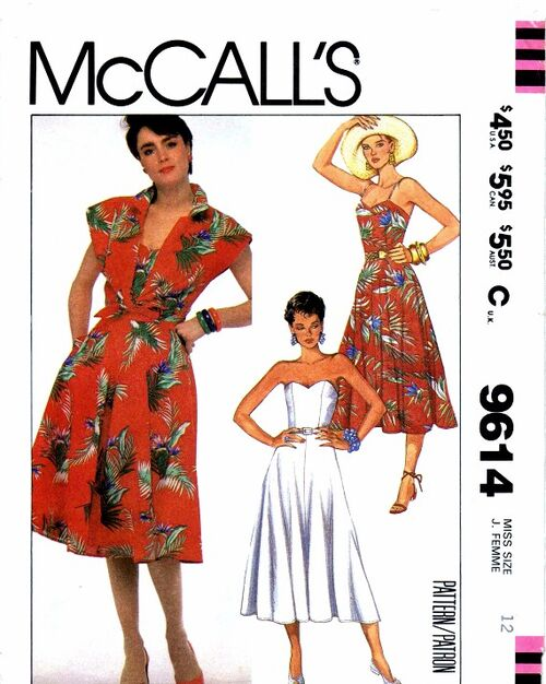 McCalls 1985 9614