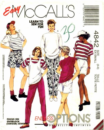 McCalls 1990 4842