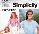 Simplicity 7821 A