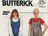 Butterick 6630 A