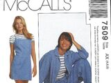 McCall's 7509 B
