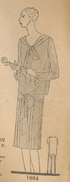 Butterick 1884