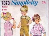 Simplicity 7378 A