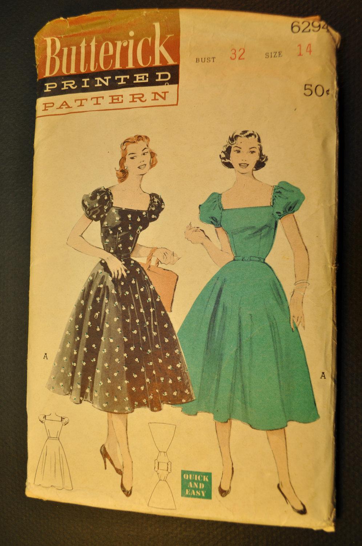Butterick 6294 a vintage sewing patterns fandom powered by wikia wiki 6294 a jeuxipadfo Choice Image