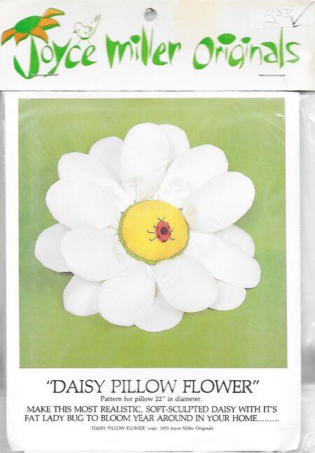 Daisy pillow flower